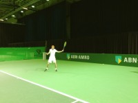 Miliaan Niesten on training at ABN Amro WTT