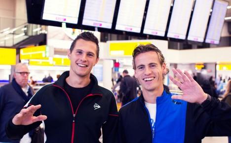 First tour double Dutch tennis team Fransen/Koolhof in South America