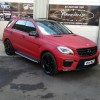 Leandro Bacuna (Aston Villa) had his Mercedes ML63 wrapped